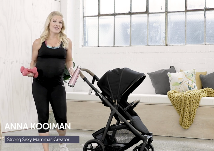 Pram workout with Anna Kooiman