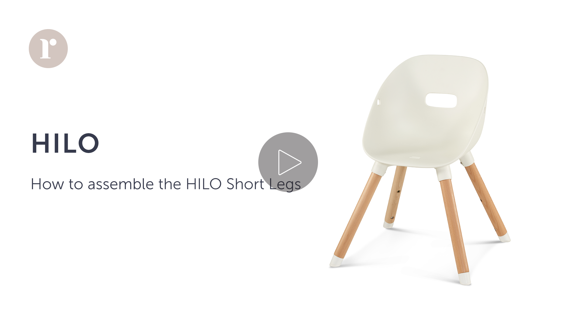 How to assemble the HILO Short Legs