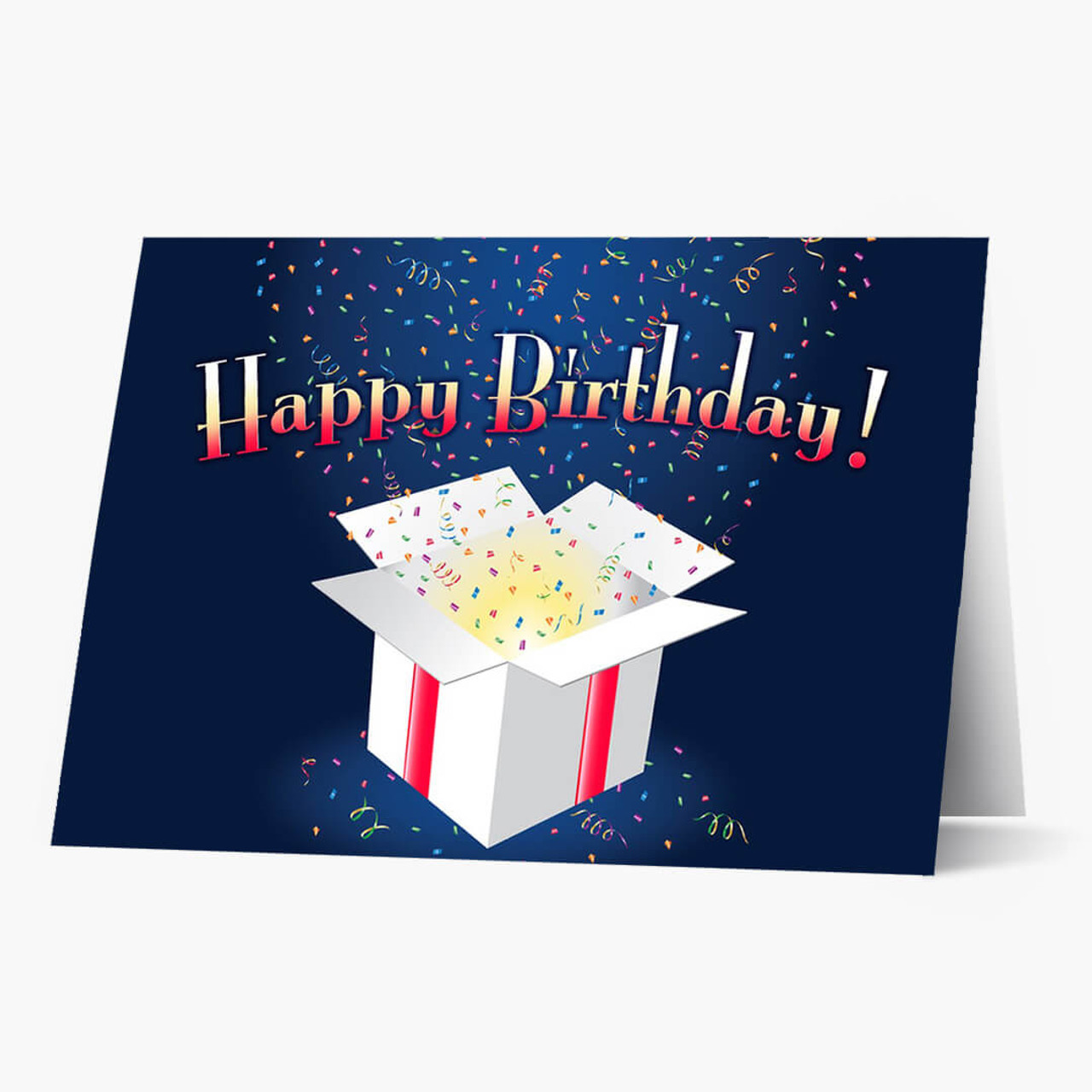 Confetti Spotlight Birthday Card