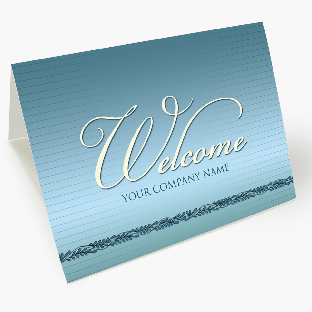 Employee Welcome Card