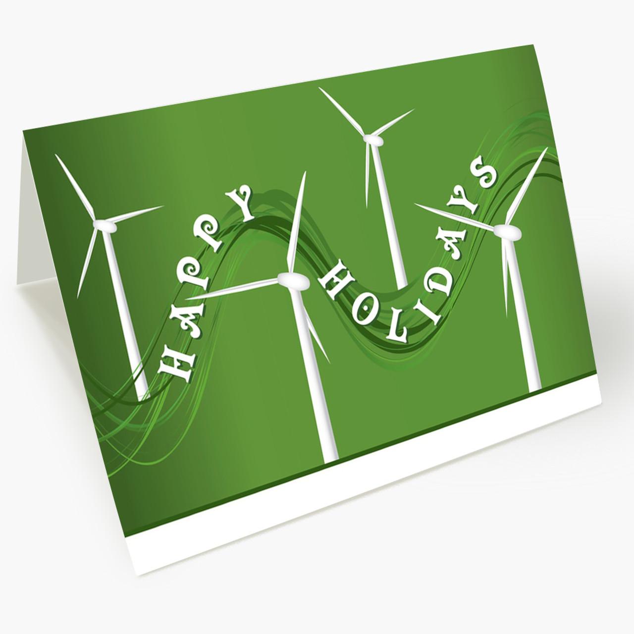 Windy Power Christmas Card