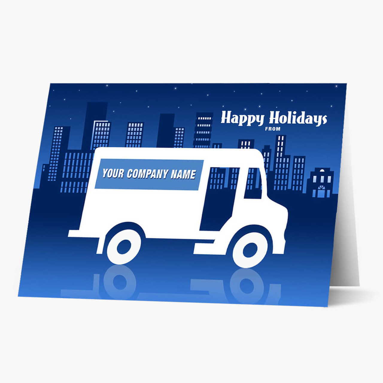 Speedy Delivery Christmas Card