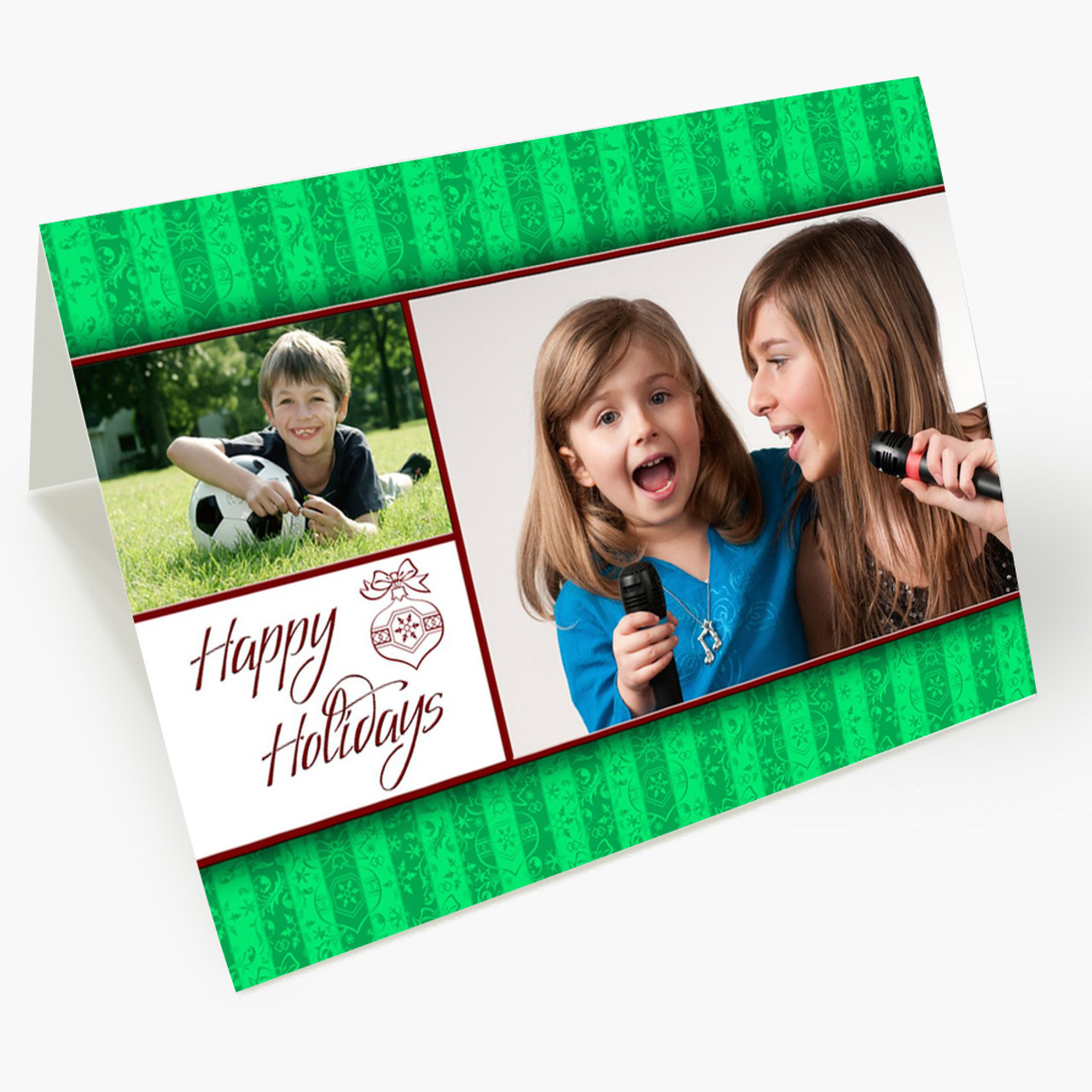 Happy Holidays Photo - Matte Finish Christmas Card