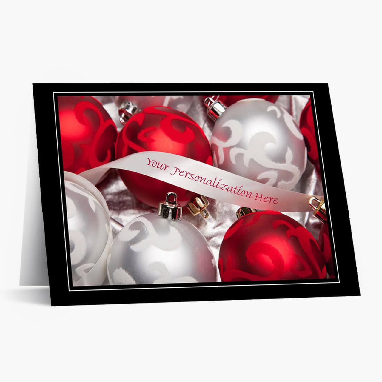 Custom Beauty Christmas Card