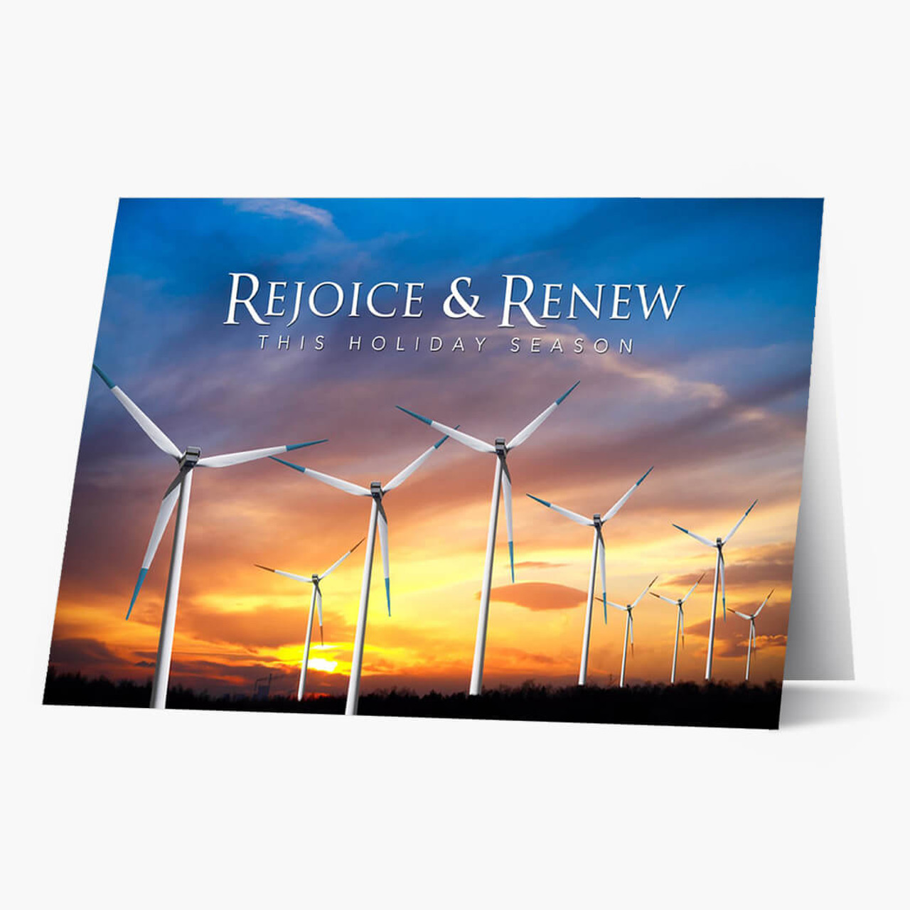Rejoice and Renew Christmas Card