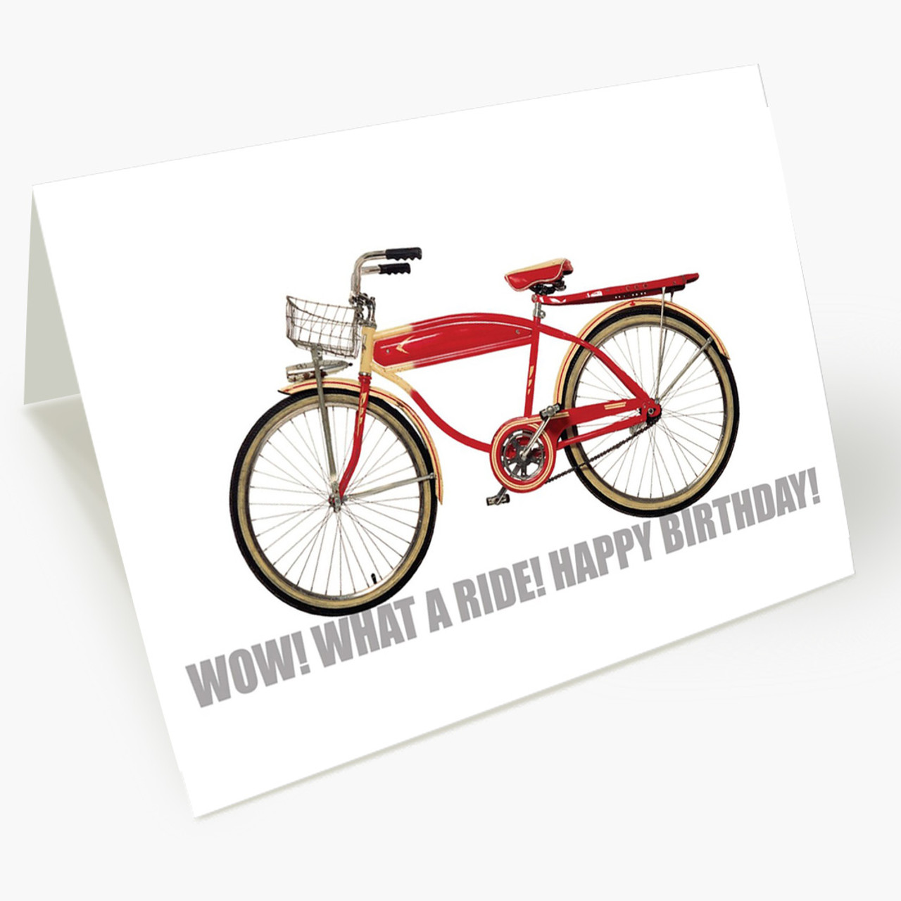 What A Ride Birthday Card