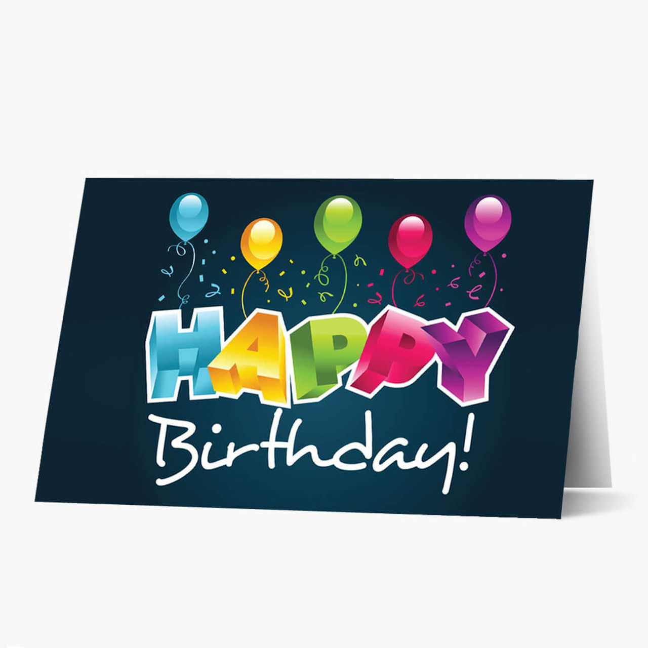 3D Birthday Greeting Card