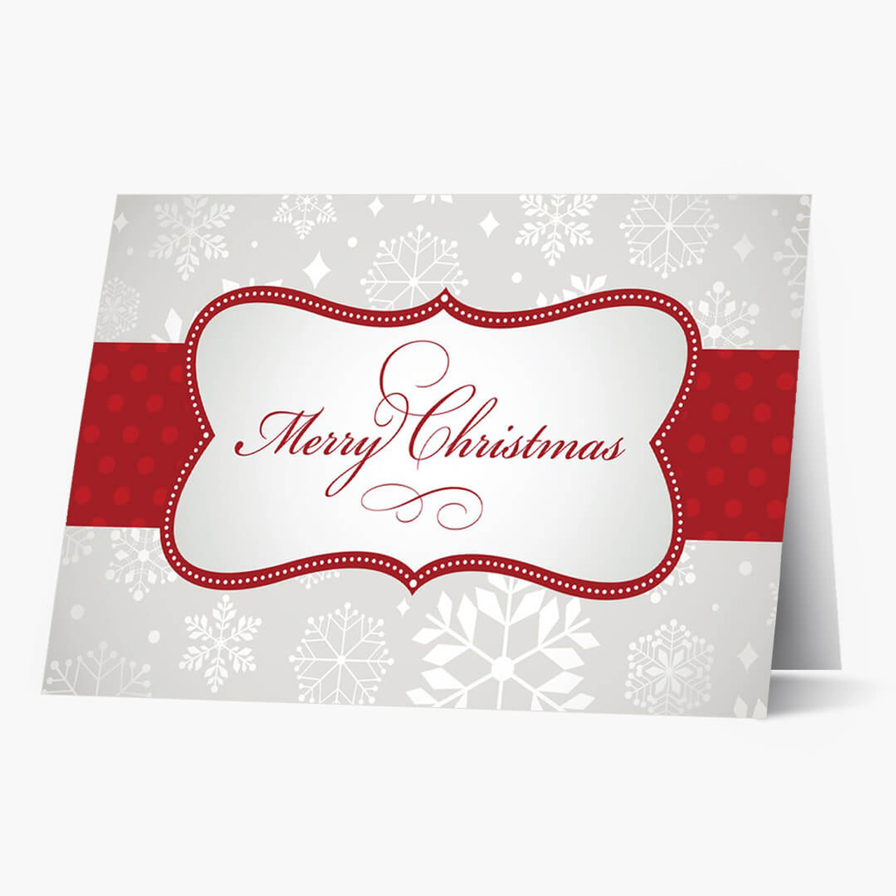 Presenting Merry Christmas Card