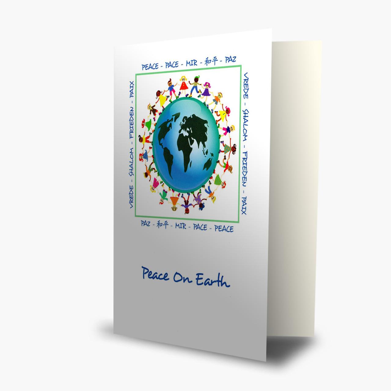 Peace On Earth Holiday  Christmas Card
