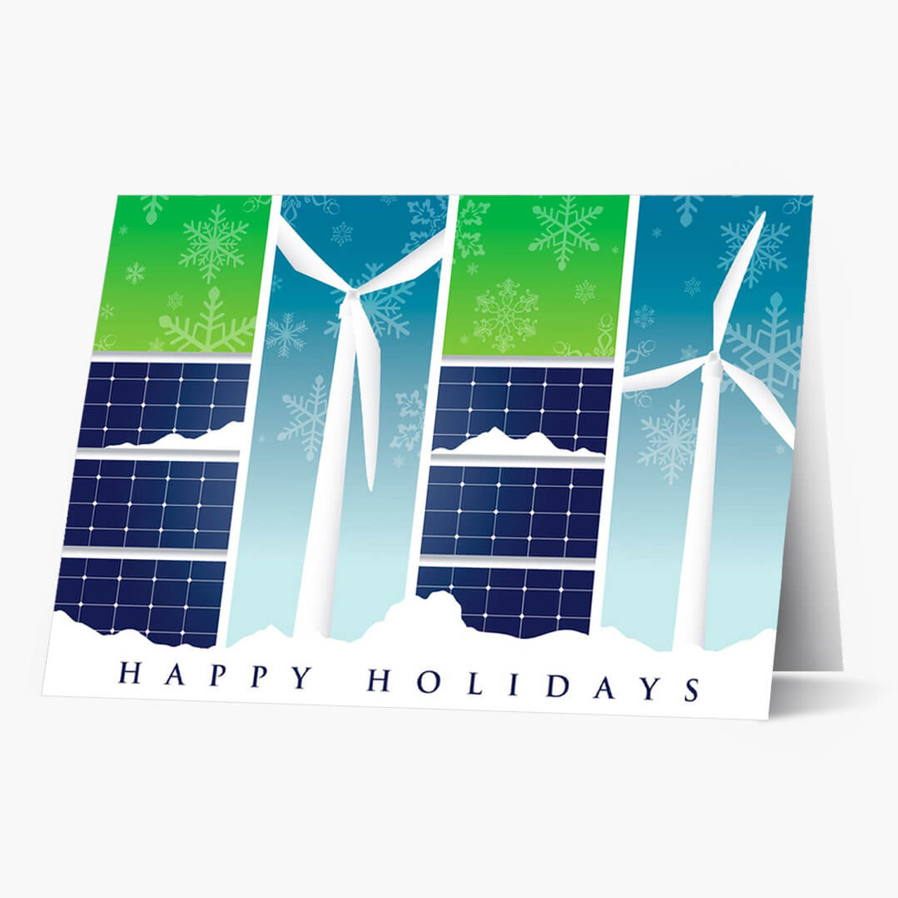 Renewable Energy Greetings Christmas Card