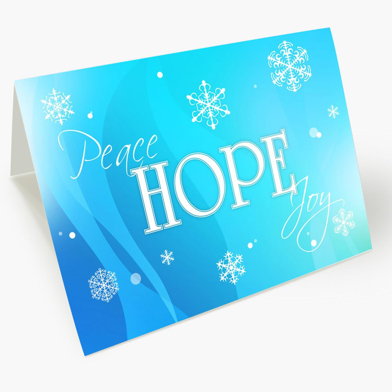 Greetings of Hope Christmas Card