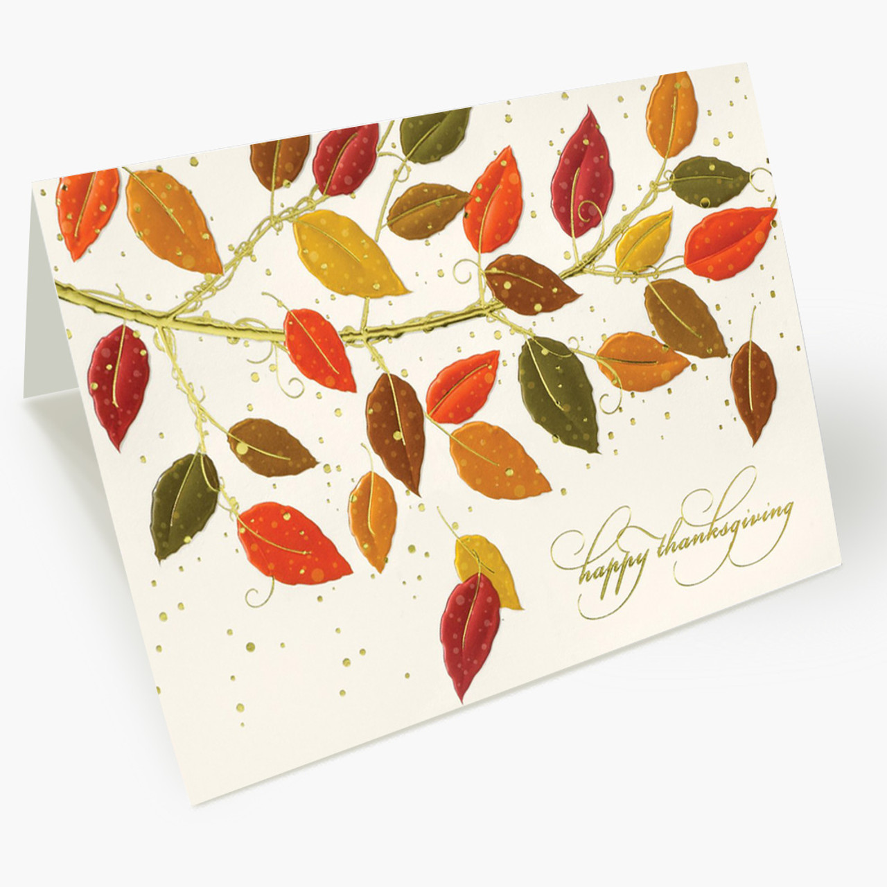 Change Of Hues  Thanksgiving Card