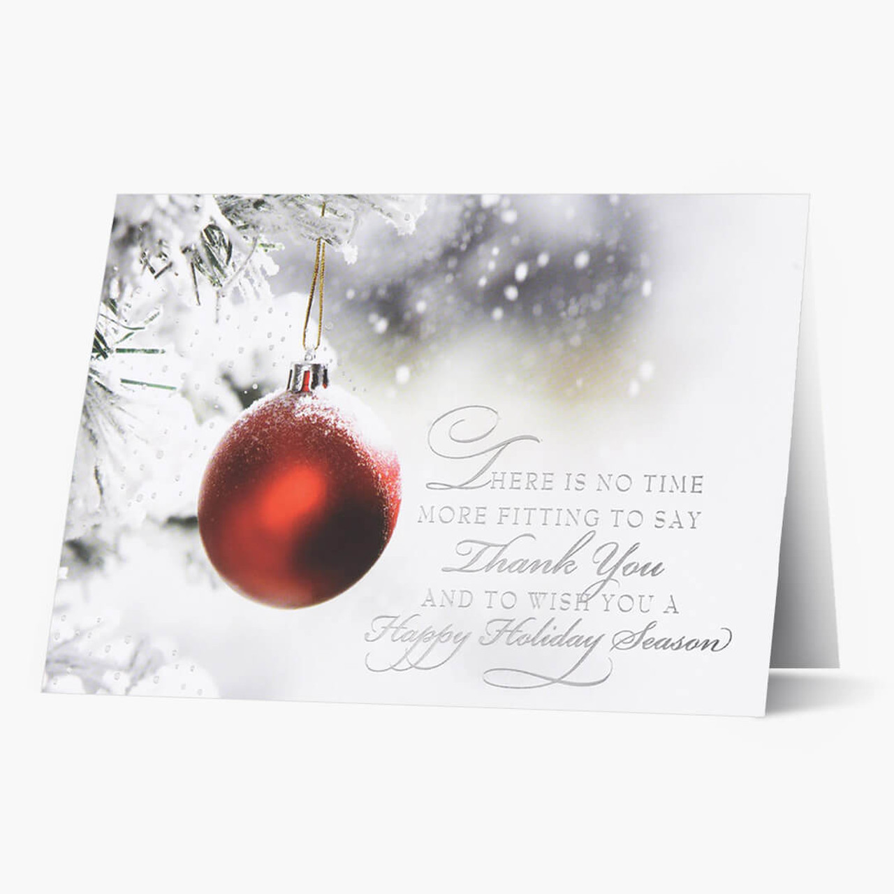A Time For Thanks Christmas Card