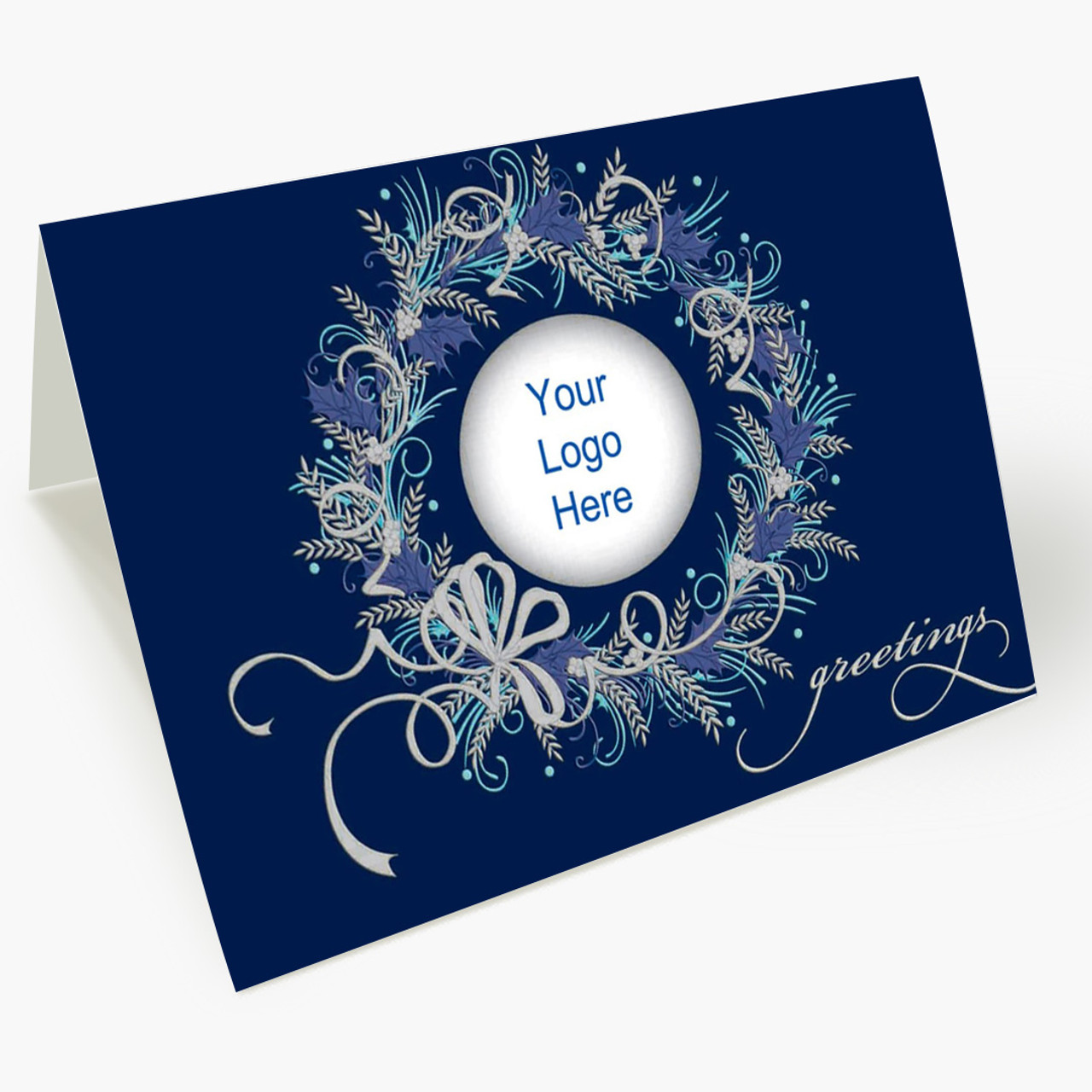 Christmas Blues Card