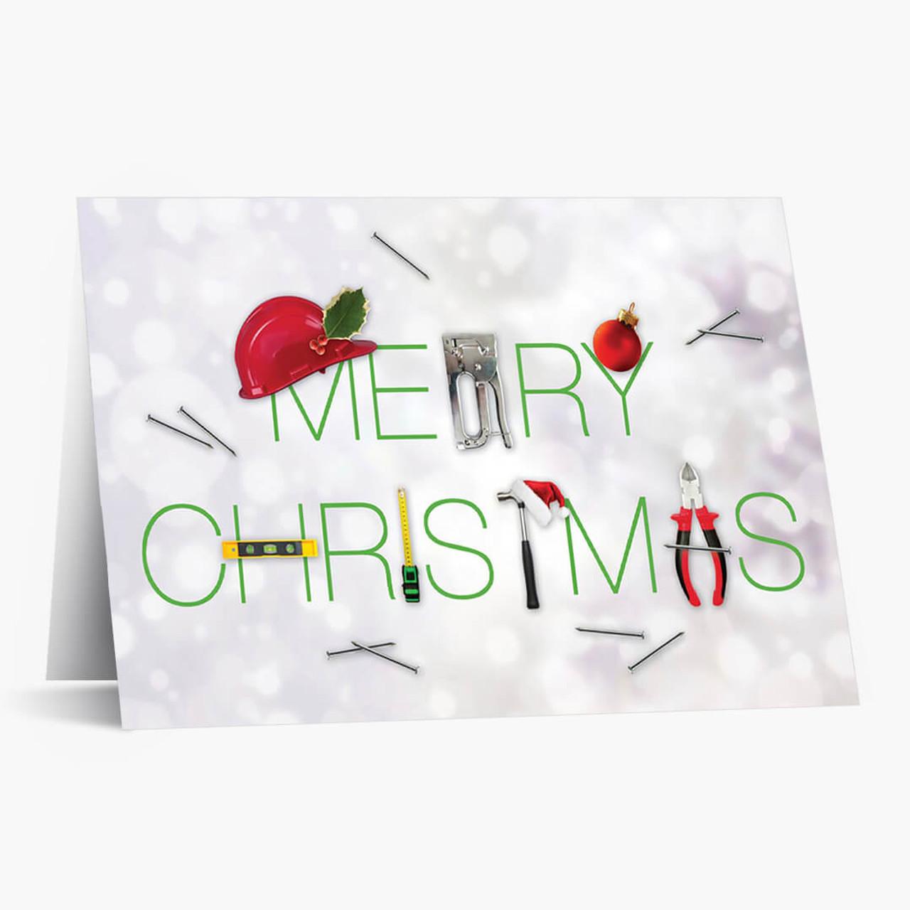 Christmas Tools Card