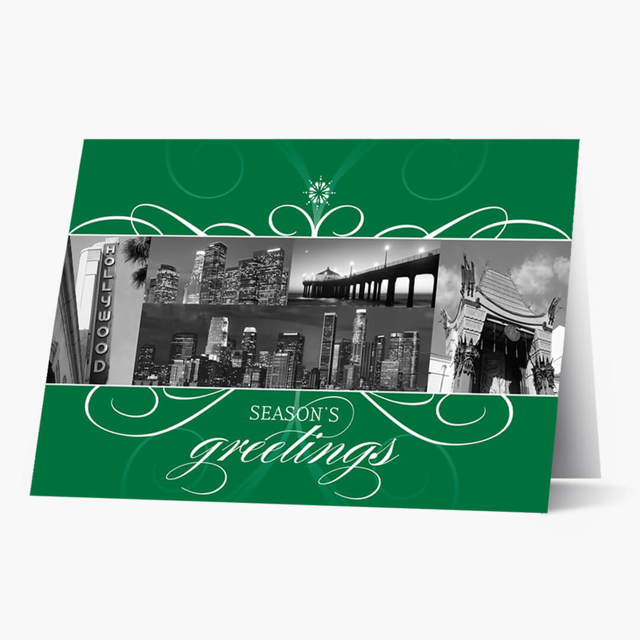 Los Angeles Florish Christmas Card