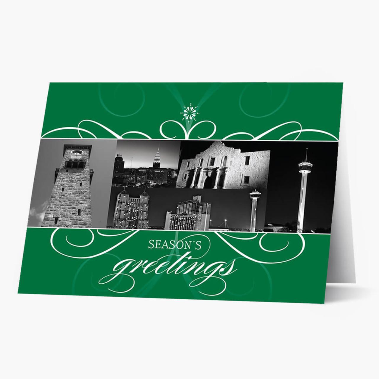 San Antonio Florish Christmas Card