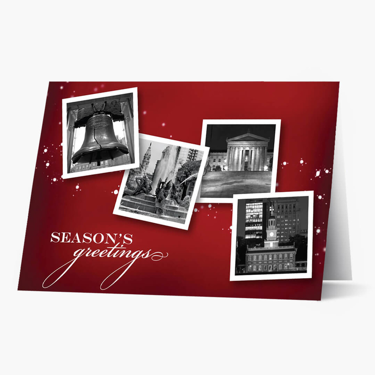 Philadelphia Icons Christmas Card