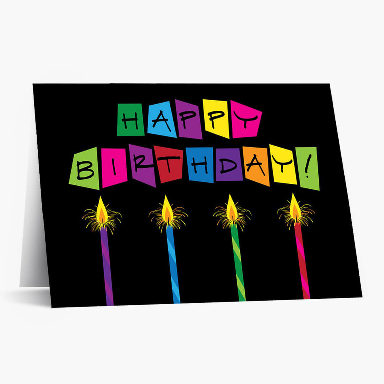 Brightest Birthday Wishes Card