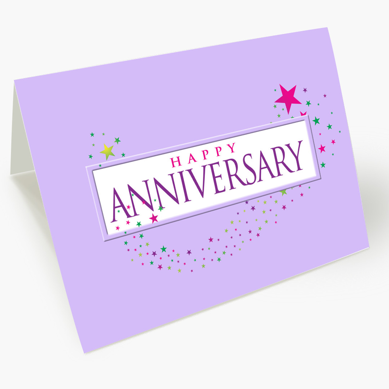 A Happy Anniversary Card