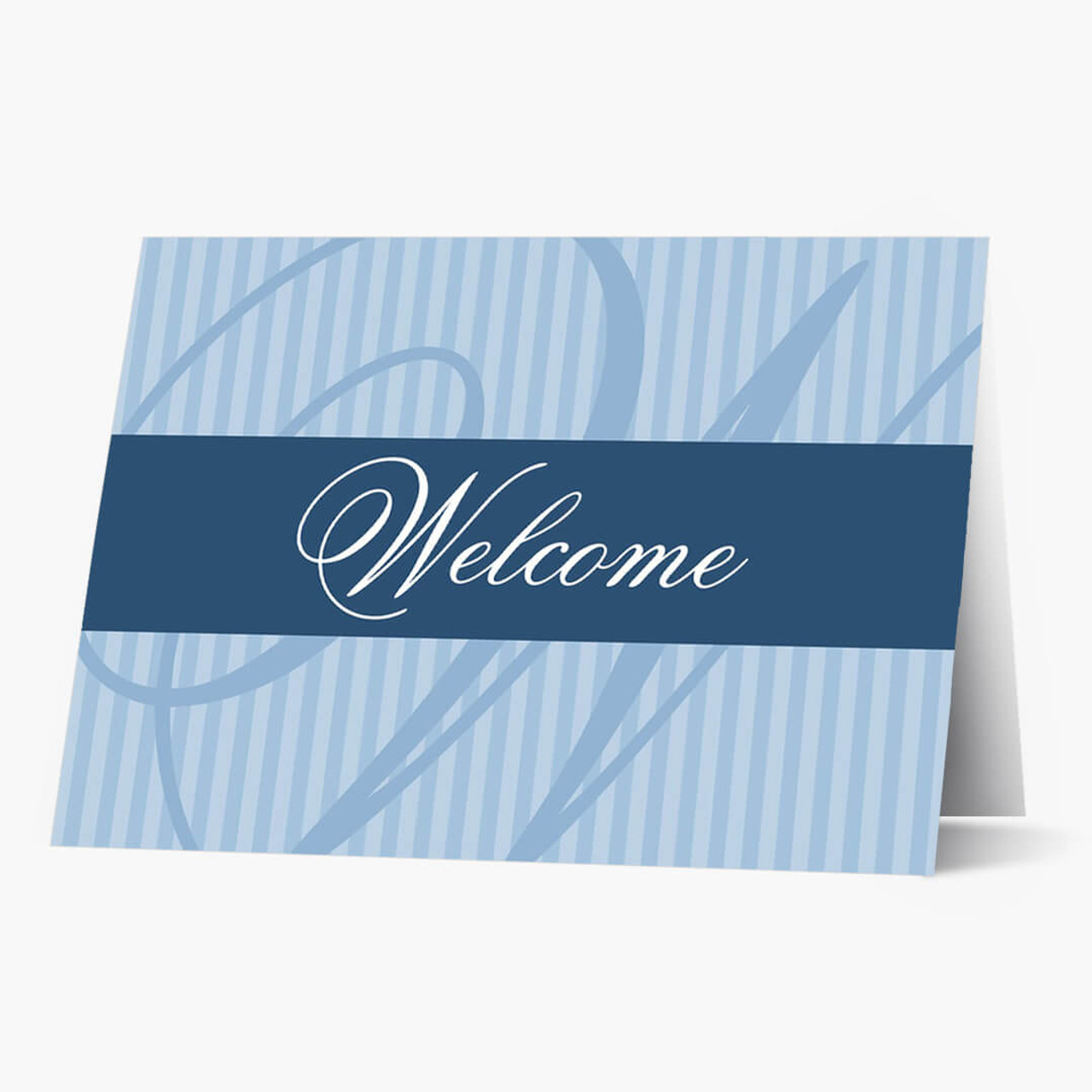 A Classic Welcome Card