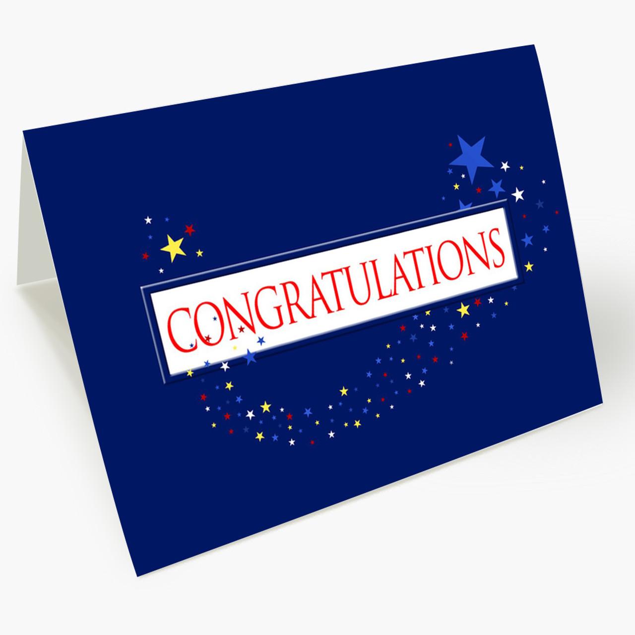 Bright Stars Congratulations Card