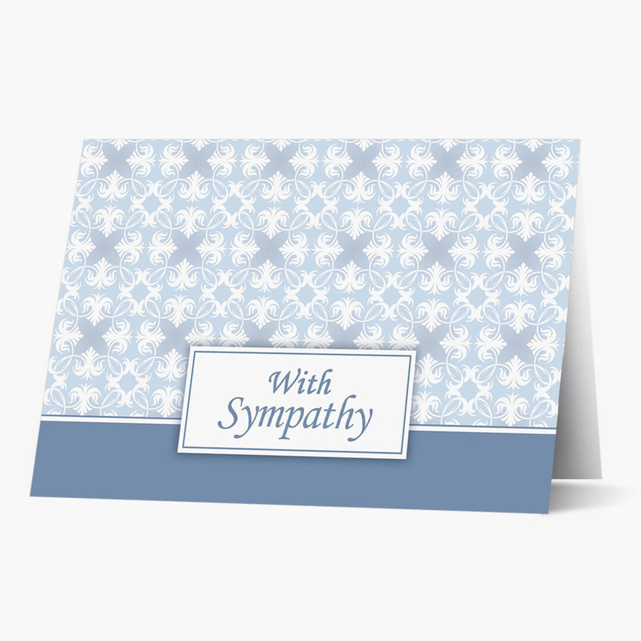 Simply Stated Sympathy Card