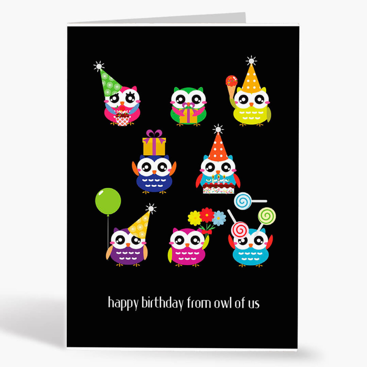 From Owl Of Us Birthday Card