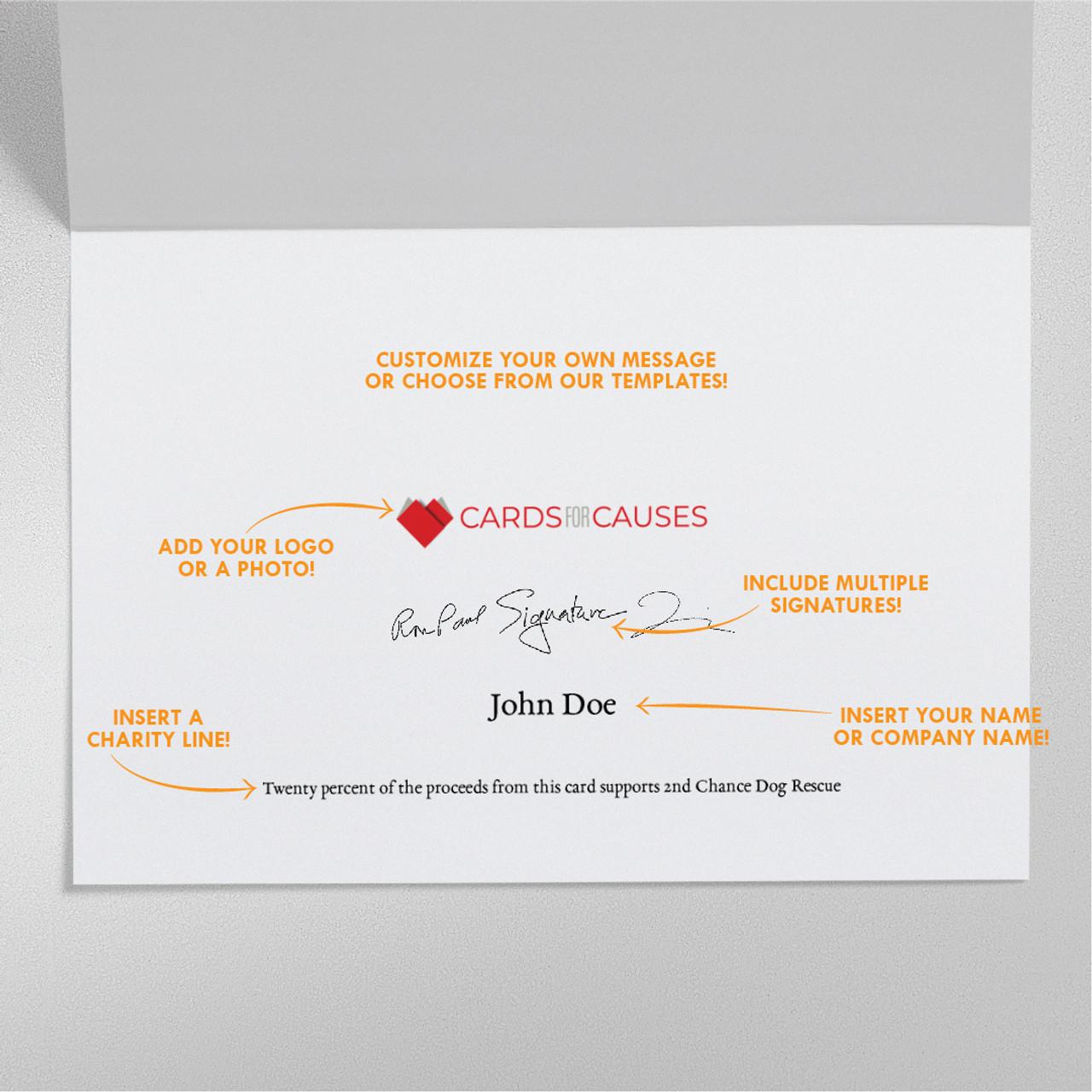 Speech Bubble Thank You Card