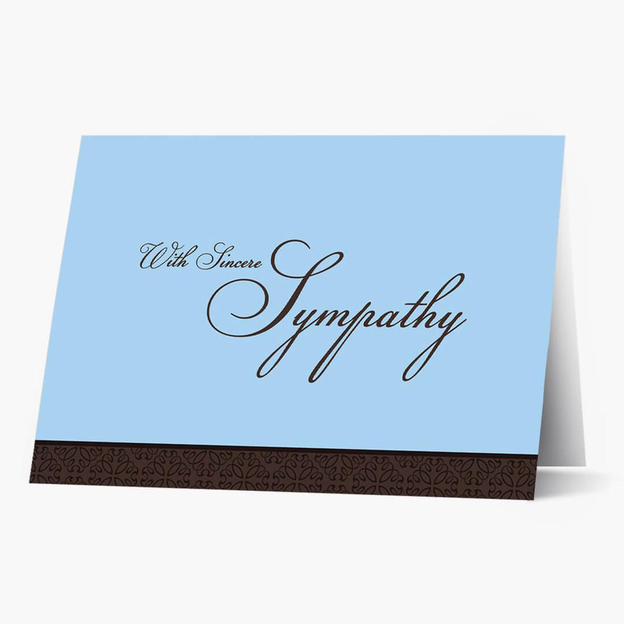 Sincere Expression Sympathy Card