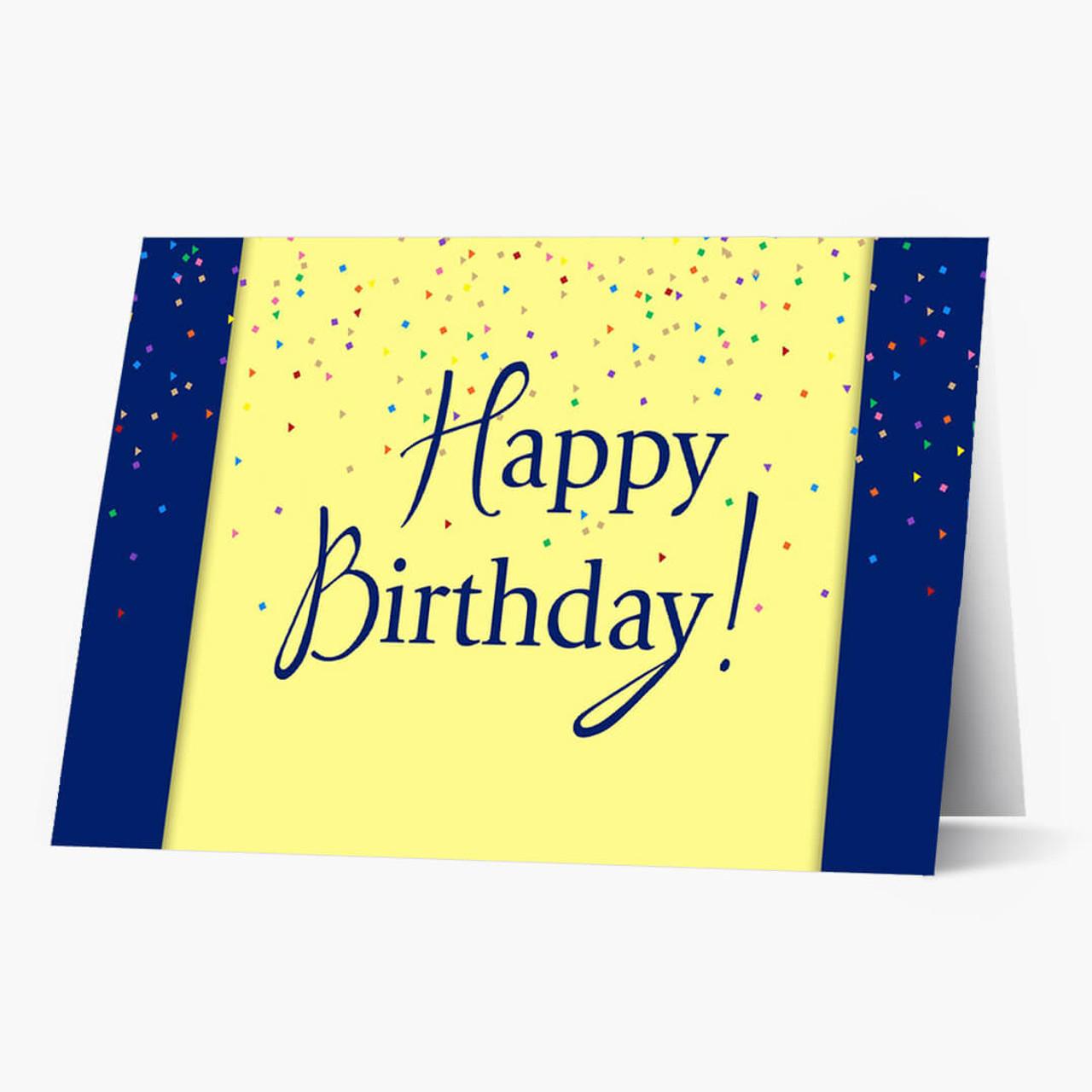 Festive Surprise Birthday Card