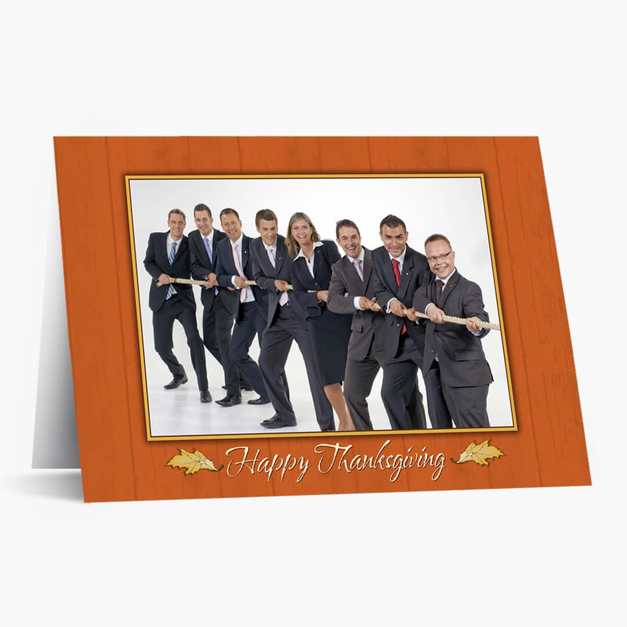 Photo Thanksgiving  - Matte Finish Card