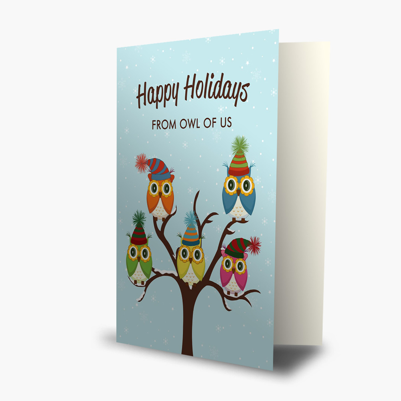 From Owl Of Us Christmas Card