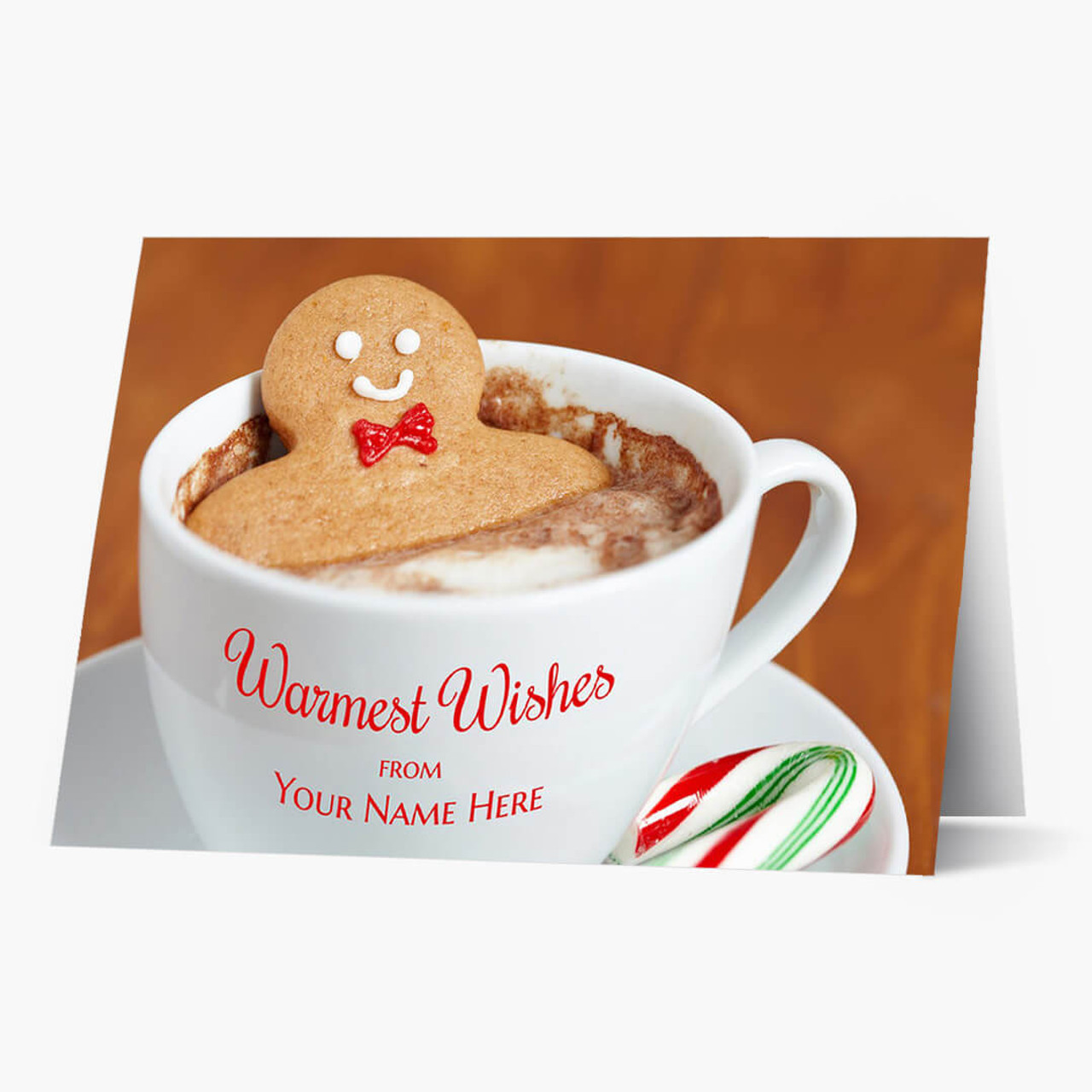 Warm Cocoa Wishes Christmas Card