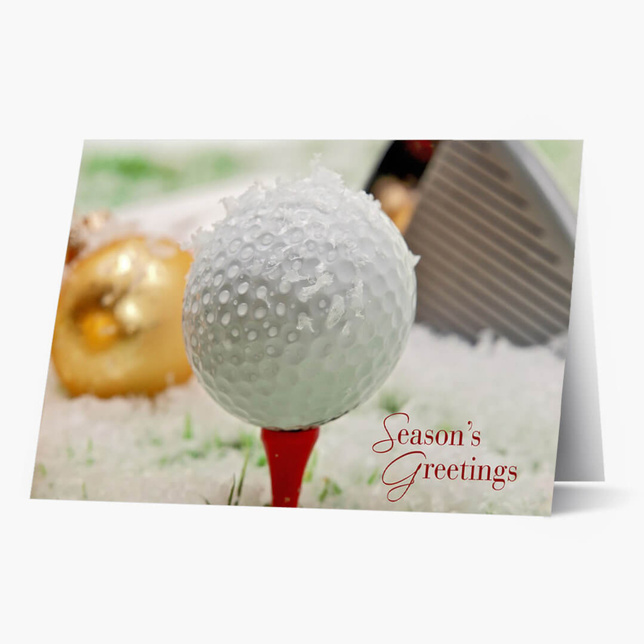 Golf Year Round Christmas Card