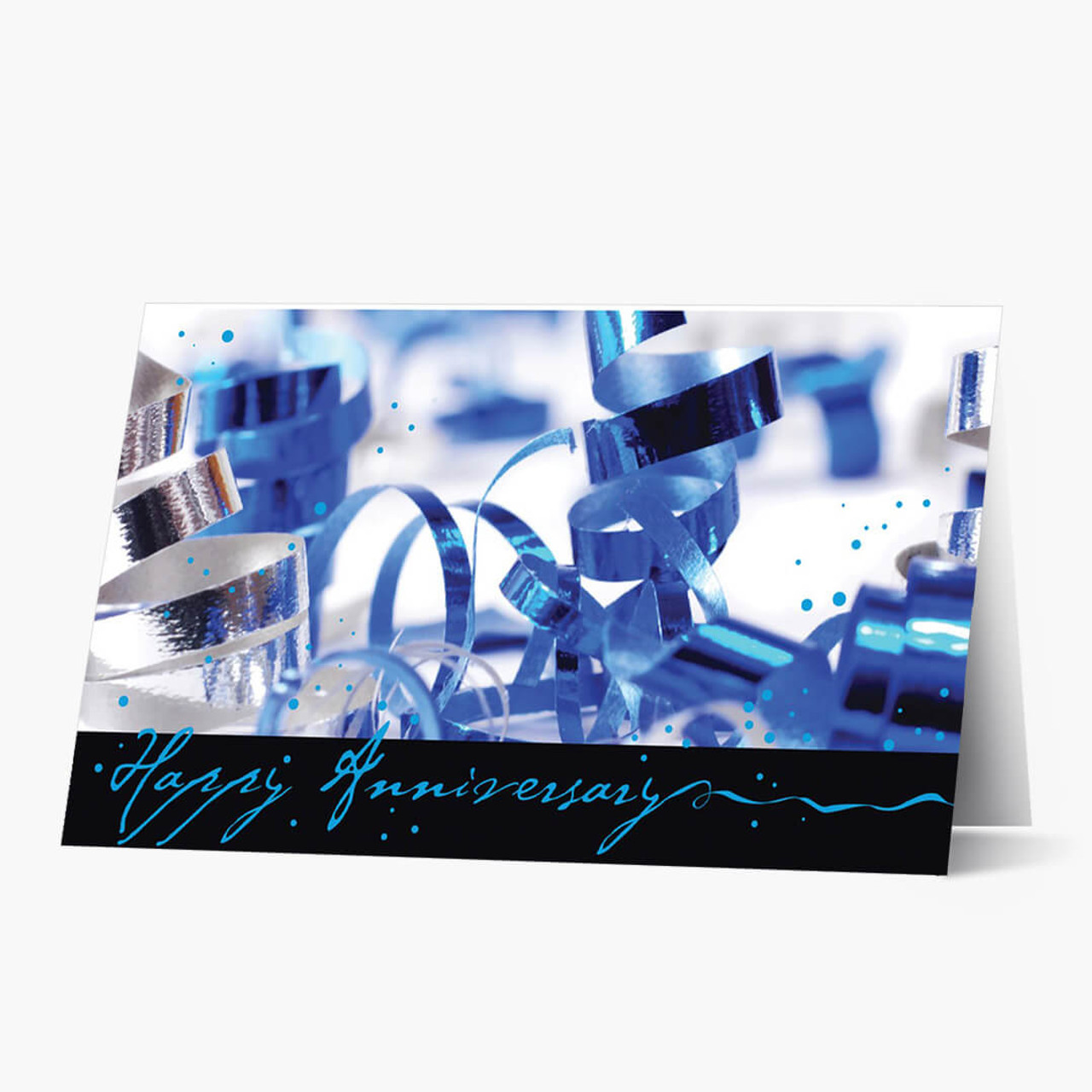Wild Ribbon Anniversary Card