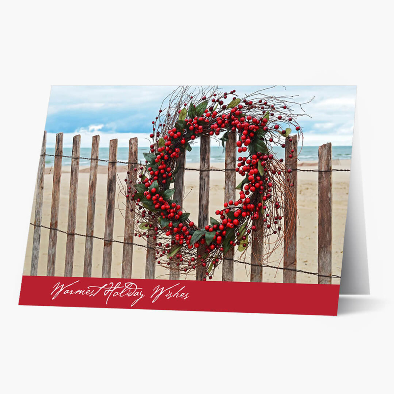Warm Weather Wishes Christmas Card