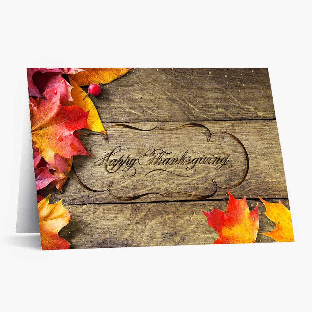 Enduring Holiday Thanksgiving Card