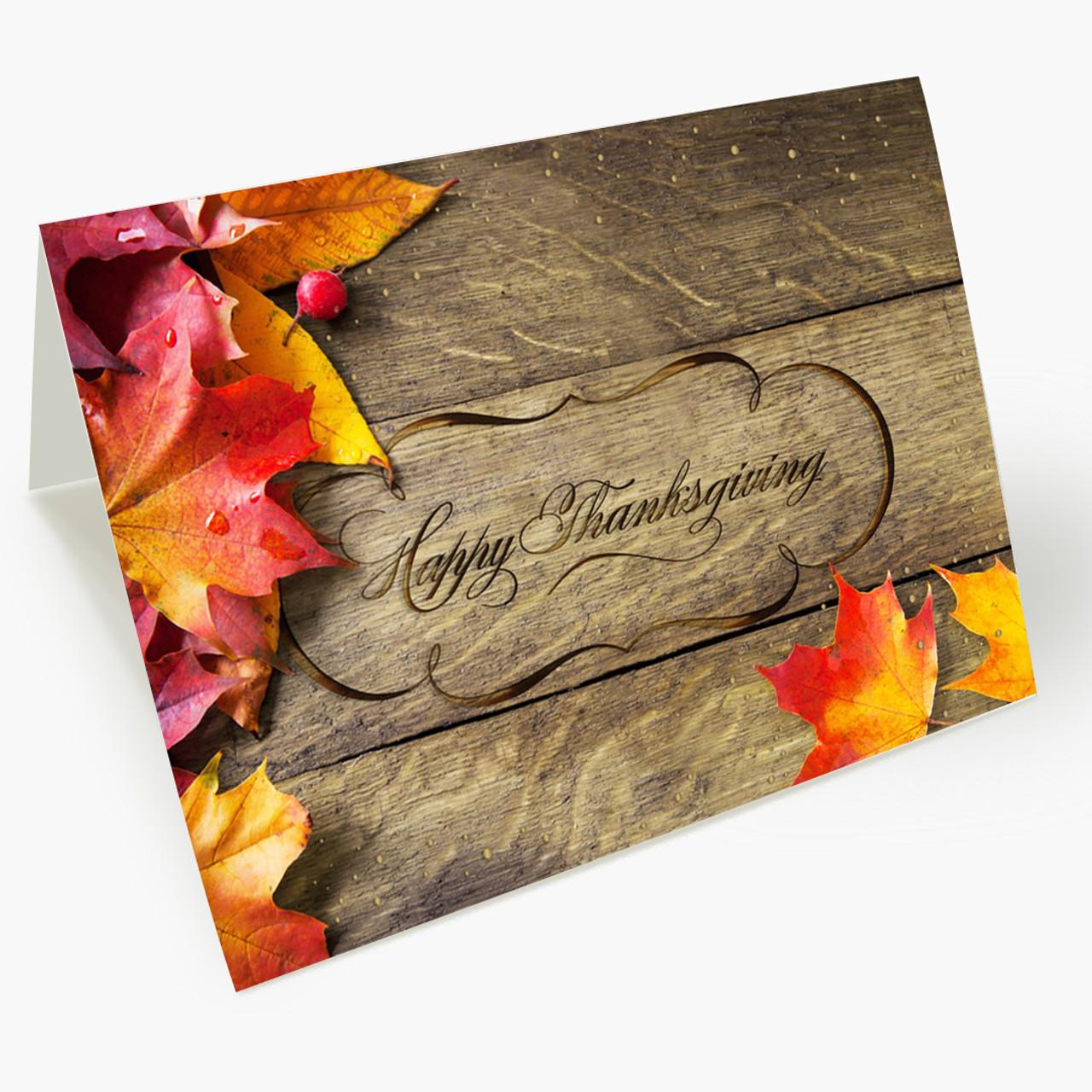 Enduring Holiday Thanksgiving Card