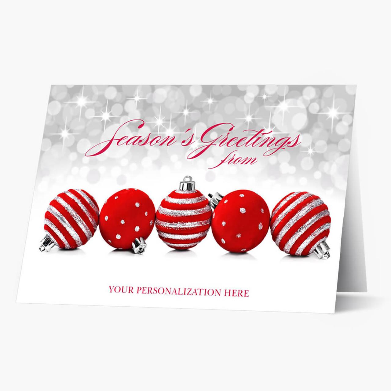 Sparkling Season Christmas Card