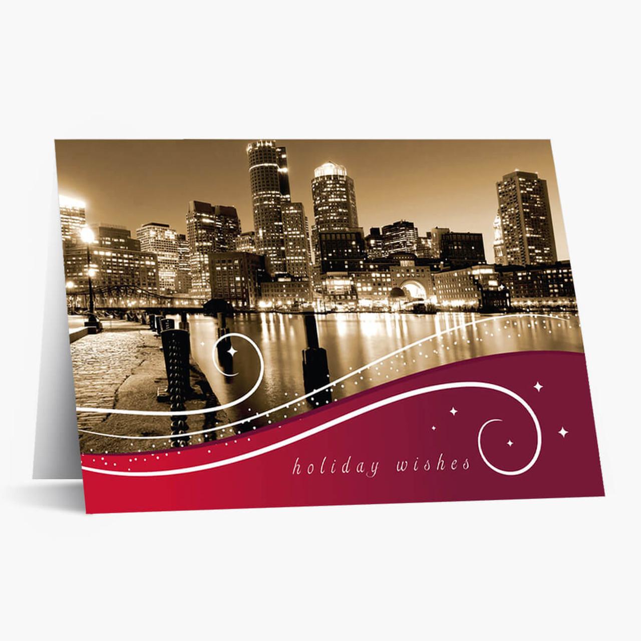 Boston Swish Christmas Card