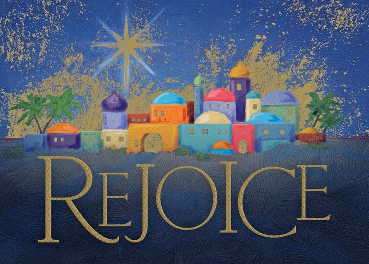 Bethlehem Rejoices Christmas Card