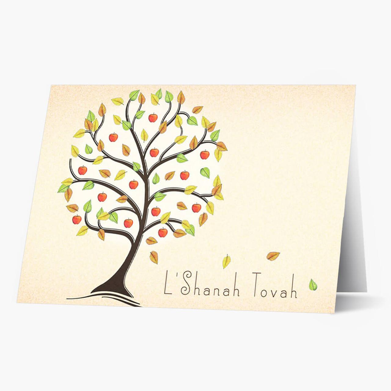 L'Shanah Tovah Tree Rosh Hashanah Card
