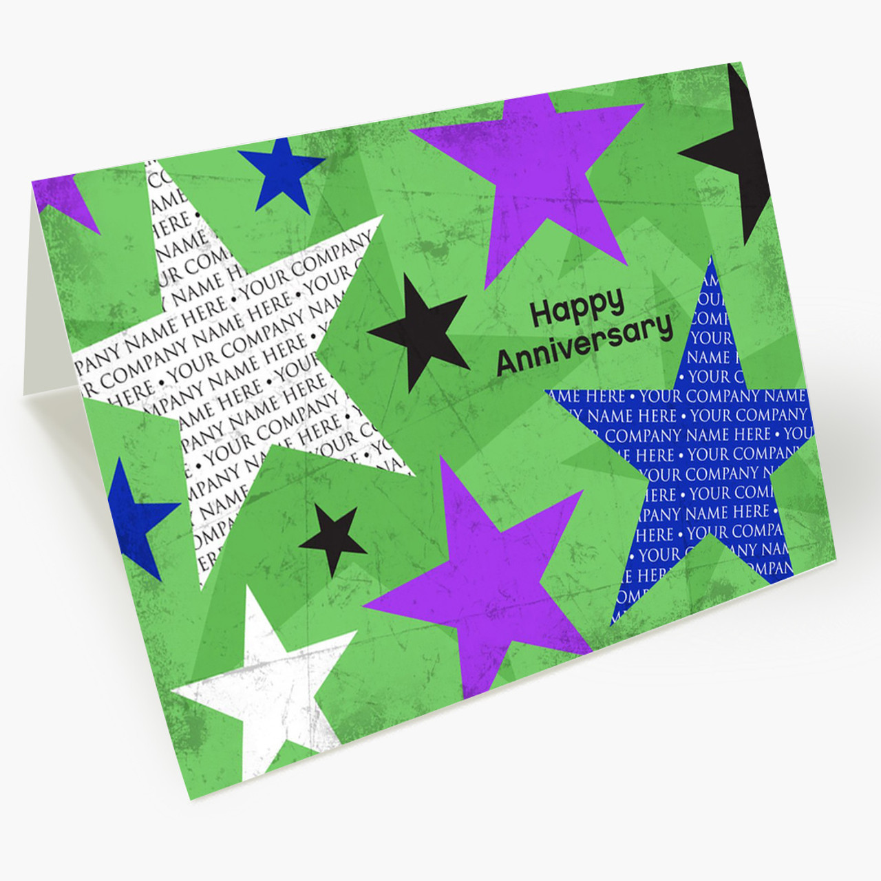 Employee Star Anniversary Card