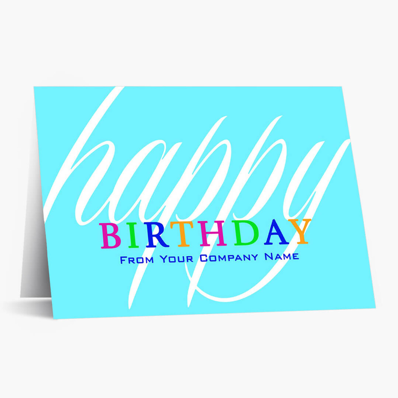 Colorful Birthday Wishes Card