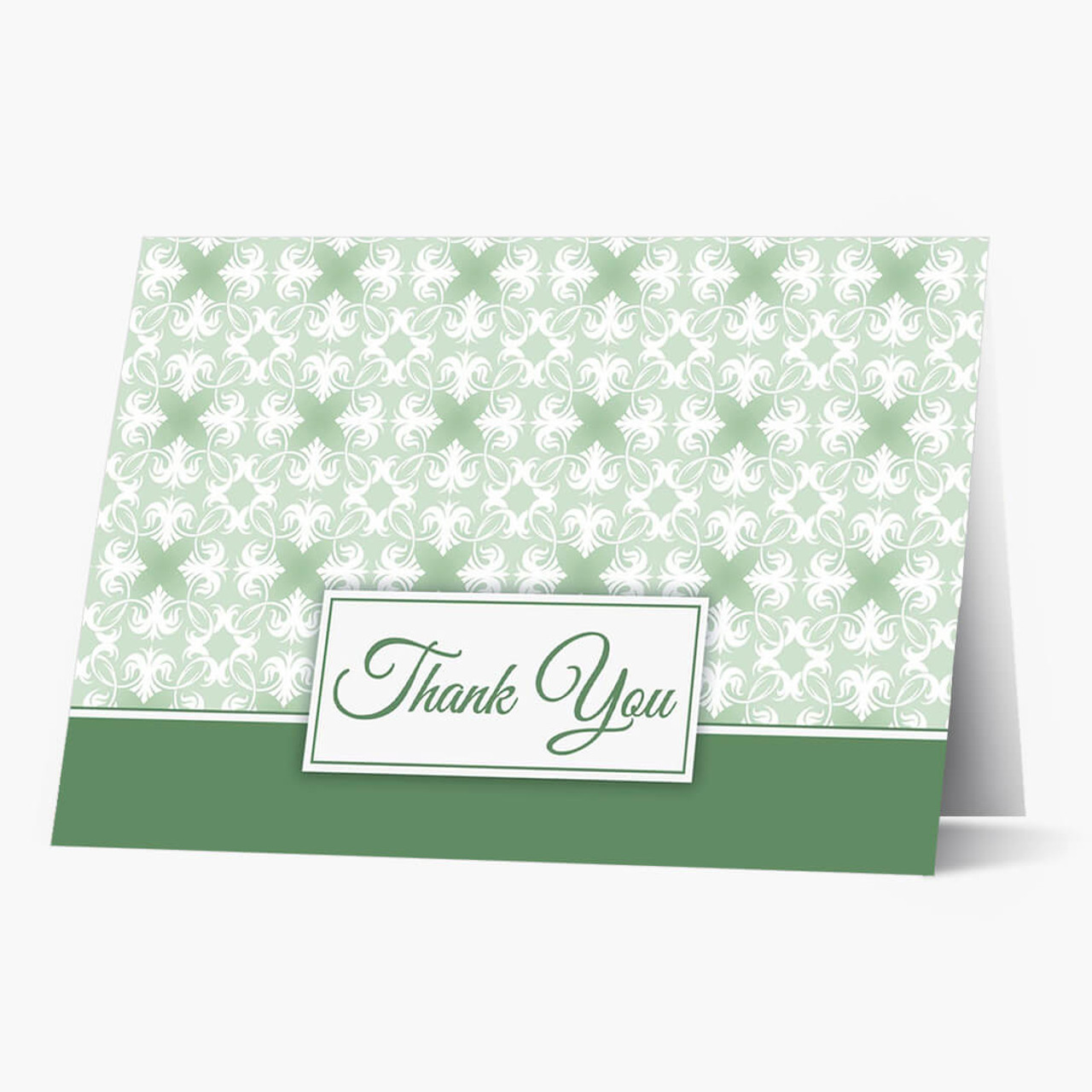 Simply Stated Thank You Card