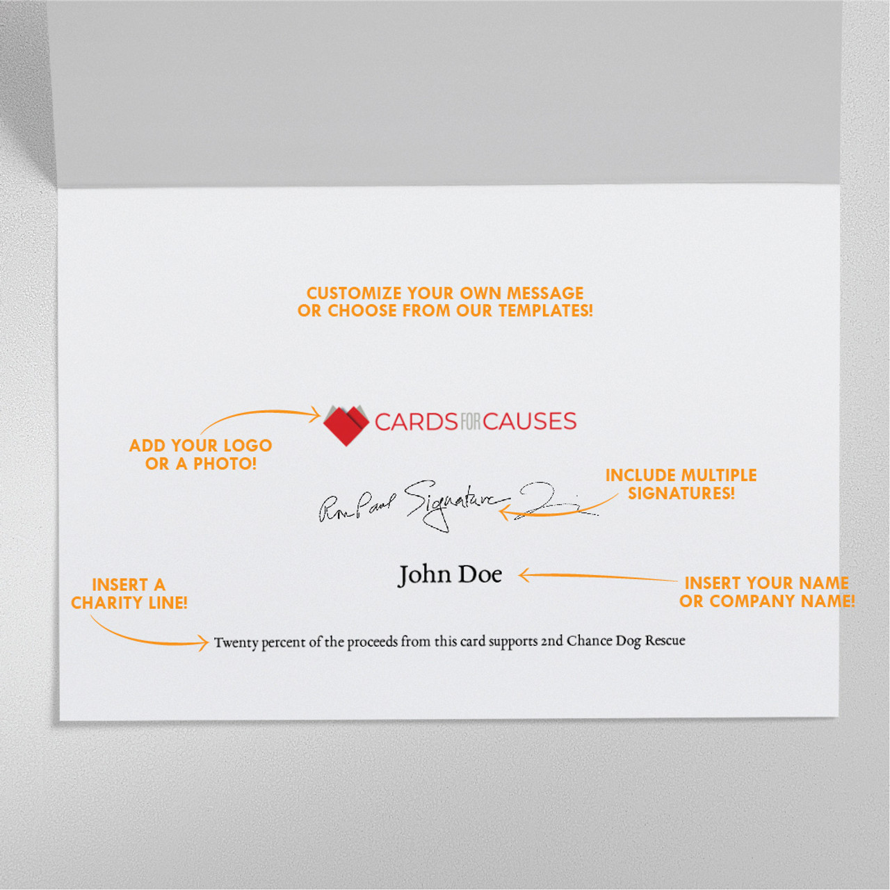 Business Love Valentine's Card