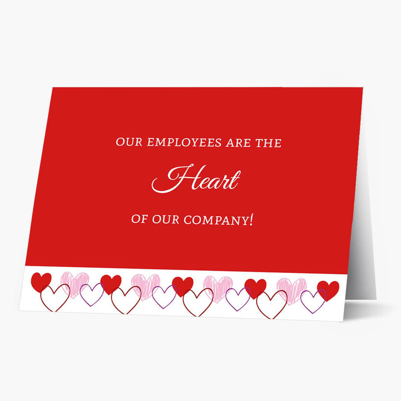 Heart Of The Company Valentine's Card