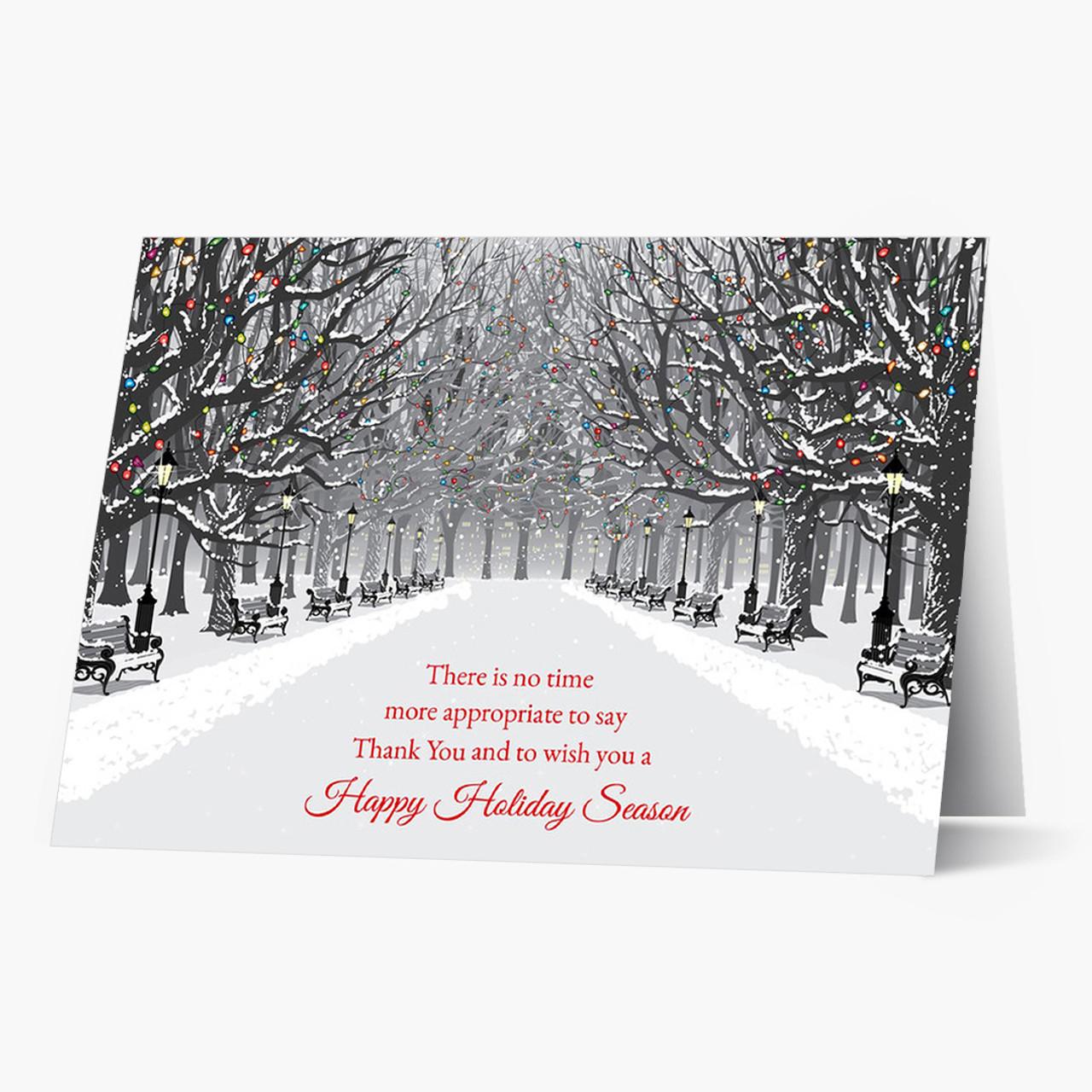 Path Of Appreciation Christmas Card