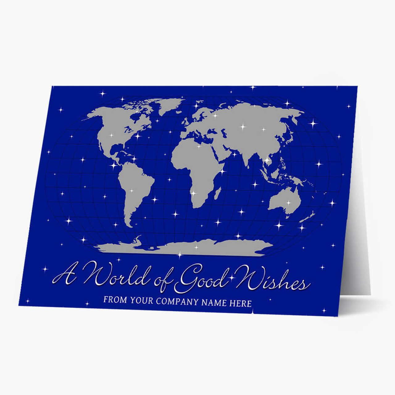 Global Good Wishes Christmas Card